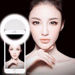 Portable USB Charging Led Ring Flash Fill Selfie Light For Smart Cell Phone