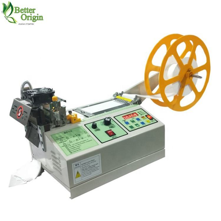 Small size satin ribbon hot cutting machine for sale