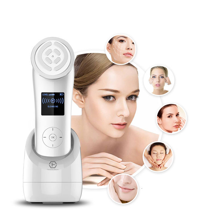 rechargeable radiofrequency portable skin system beauty facial device