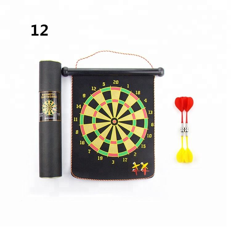 Indoor set game blister safety magnetic dart board for kids