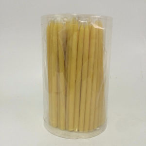 zhongyi 100% natural beeswax taper candles