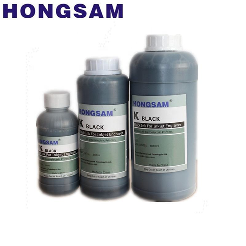 Hongsam fine fluency black inkjet ink for film plate making for epson printer