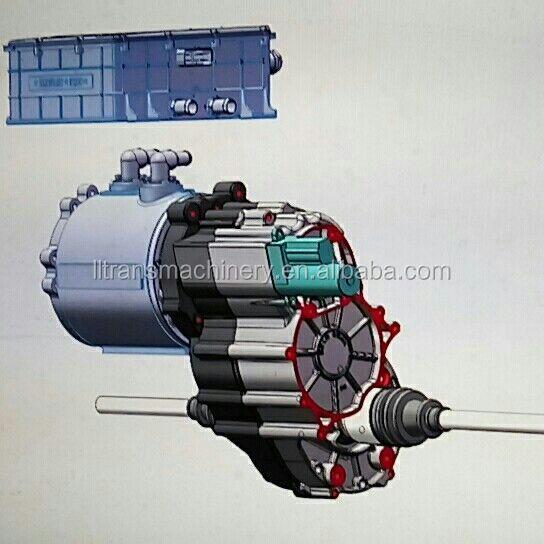 30kw ev 2 speed automatic transmission