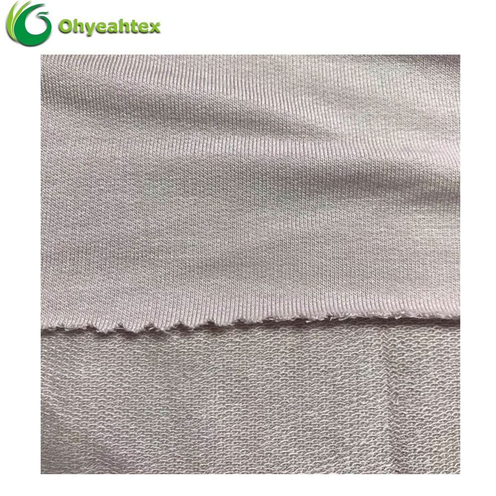 Wholesale Soft 95% Modal 5% Spandex Lenzing Modal French Terry Fabric For Hoodie