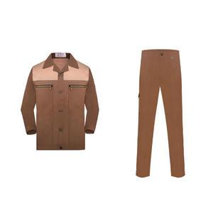 design your own work uniform cotton ground wool high density texture work clothes uniform