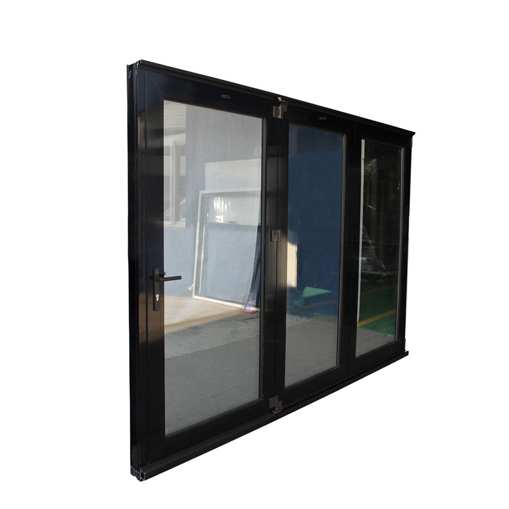 China quality supplier AAMA/AS2047/NZS4211 patio glass folding door