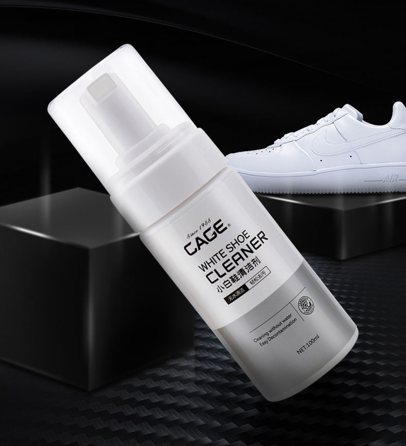 Eco-friendly ingredients custom private label foam sneaker cleaner for shoes cleaning