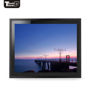 "low cost 12"" / 15"" / 17"" / 19"" / 22"" / 23"" aspect ratio 4:3 / 5:4 / 16:9 square or wide screen industrial touch monitor"