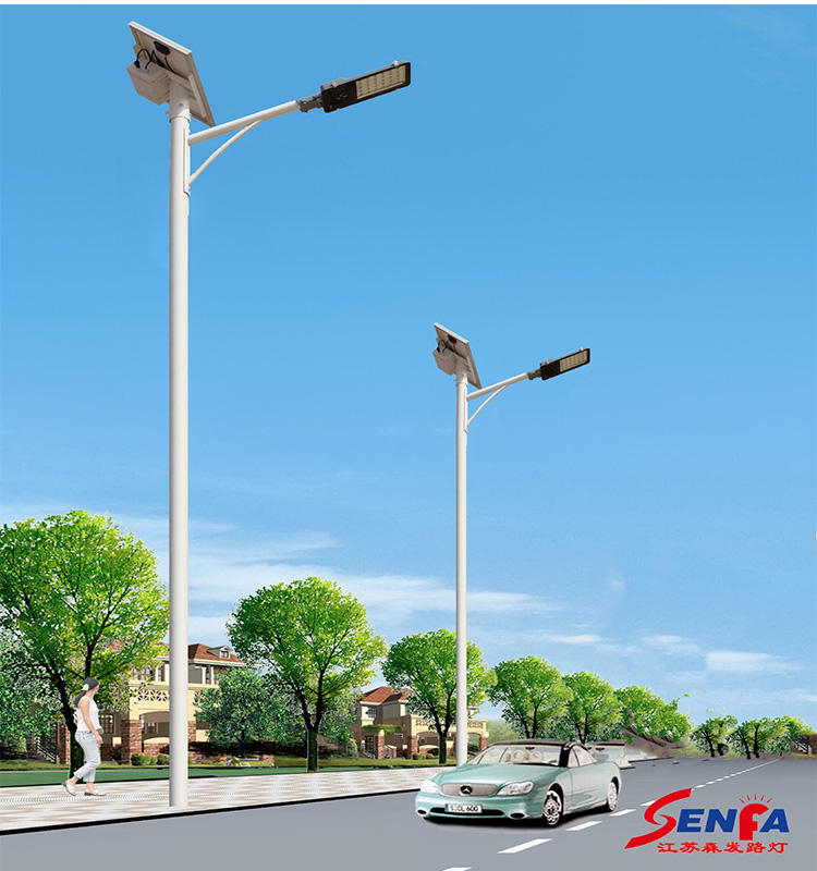 Solar technologie Led-straatverlichting met 12/24 v circuit uit China fabrikant