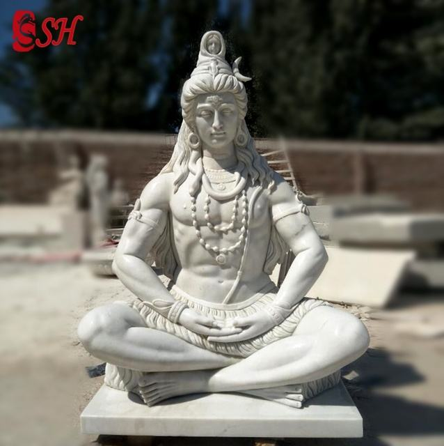 custom marble lord shiva statue for sale
