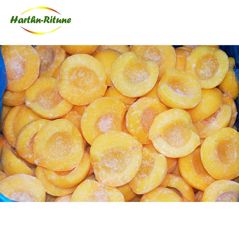 Best-selling canned frozen yellow peach slices