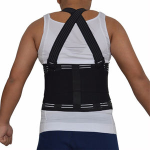 Hot selling verstelbare comfortabele 4 PP strips taille brace riem voor mannen