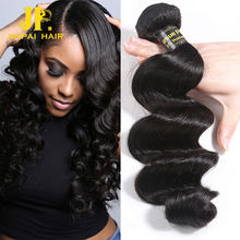 Deep Loose Wave Wet and Wavy Hair And Hair Piece,Cheap 12a Grade Virgin Brazilian Hair Bundles with Closure