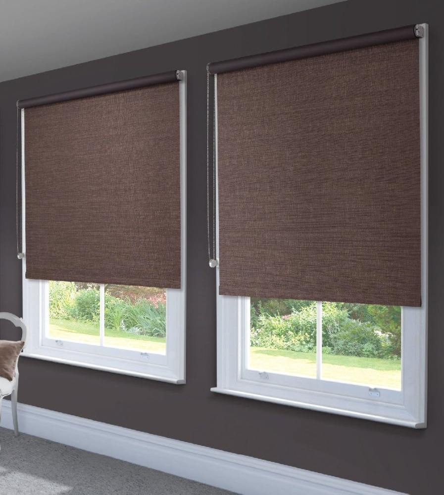 Wholesale Cheap China Custom Clear solar roller shades /roller blinds for