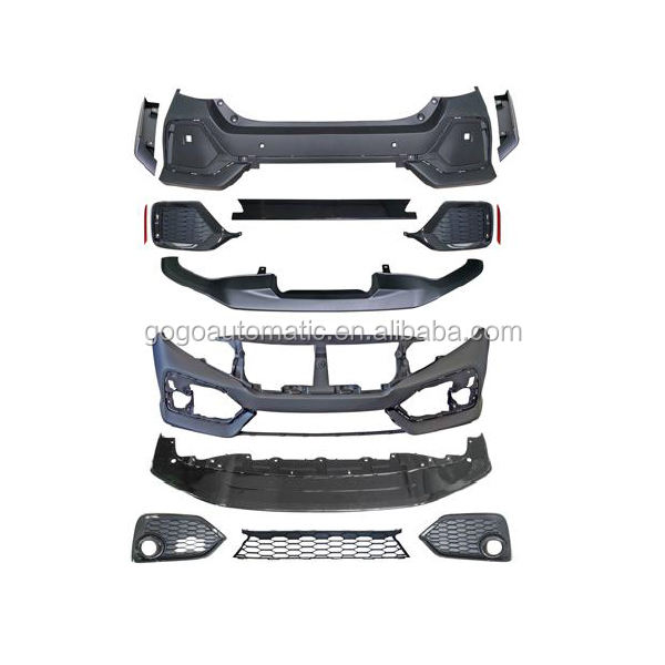 FRONT AND REAR BUMPER BODY KITS FOR SI AND TYPE R MODEL 2016