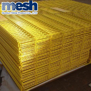 Alibaba China PVC Coated Welded Wire Mesh Panel