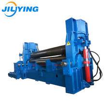 Top Quality 3 roller aluminium small iron metal sheet plate manual roll bending machine