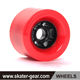 SKATERGEAR electric flywheels longboard skateboard wheels 80mm