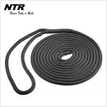 Wholesale marine rope double braided polyester bungee dock line