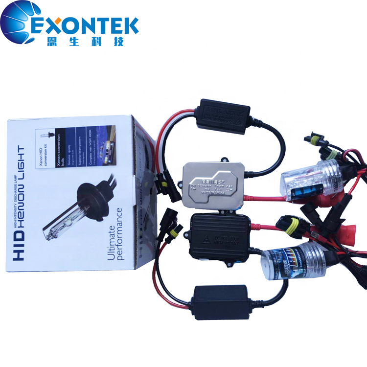 2020 Aftermarket Car Lighting Tuning Accessories Xenon DC HID conversion kits with 12V 35W H1 H3 H7 H8 H11 9005 9006 880