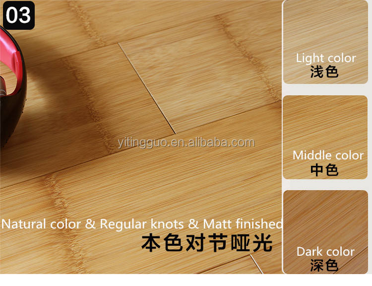 Stained/Colored Solid Bamboo flooring Black/walnut /CE