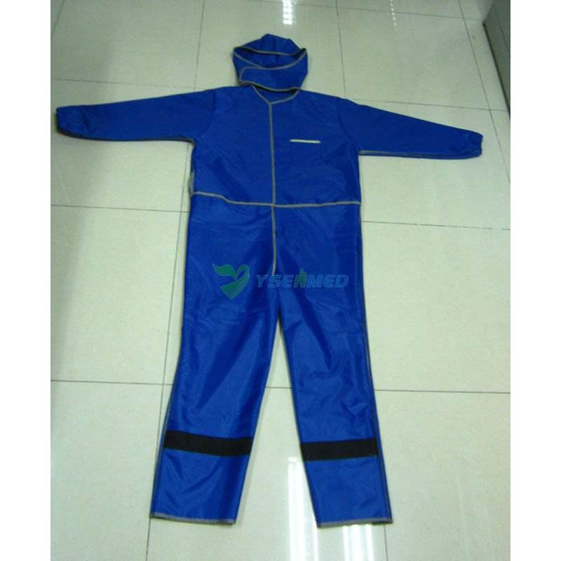 YSX1558 low price whole body X-ray Lead Apron Radiation Protection Suit