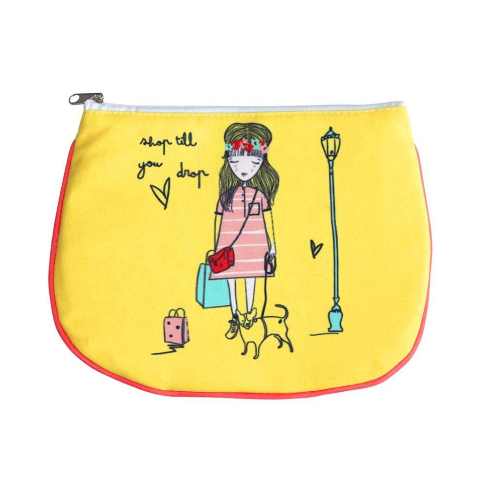 Microfiber [ Ladies Purse ] Purse Coin Purse Ladies Microfiber Coin Purse With Zipper