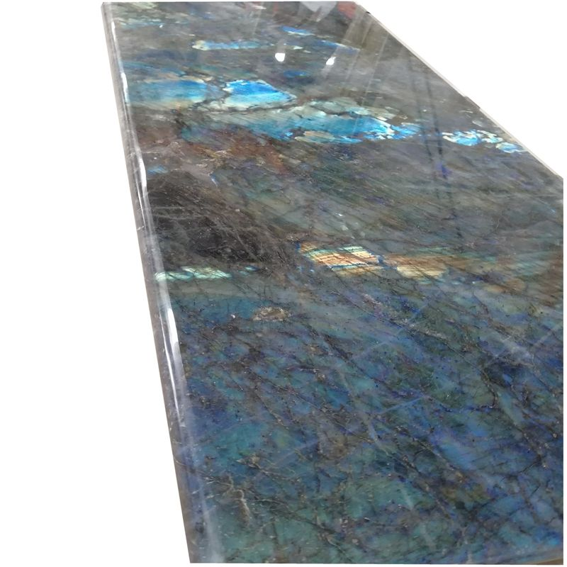lemurian blue granite resin kitchen countertop