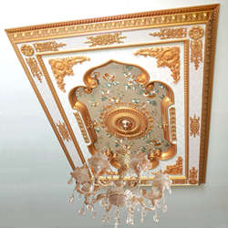 Alibaba new design jewellery showroom ceiling moulding desig