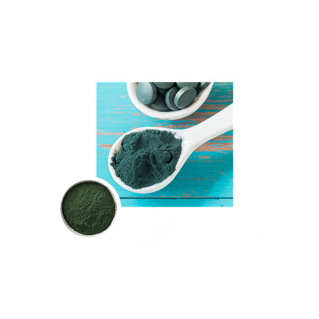 Hot Sale! Spirulina algae high protein spirulina drink mix bulk powder