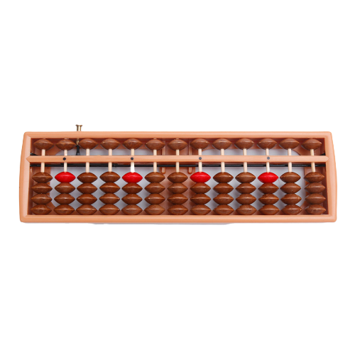 E-co Friendly ABS Plastic Student Abacus Soroban 13 Rods Column Beads Custom Logo Chinese Cheap Mini Abacus of Good Quality