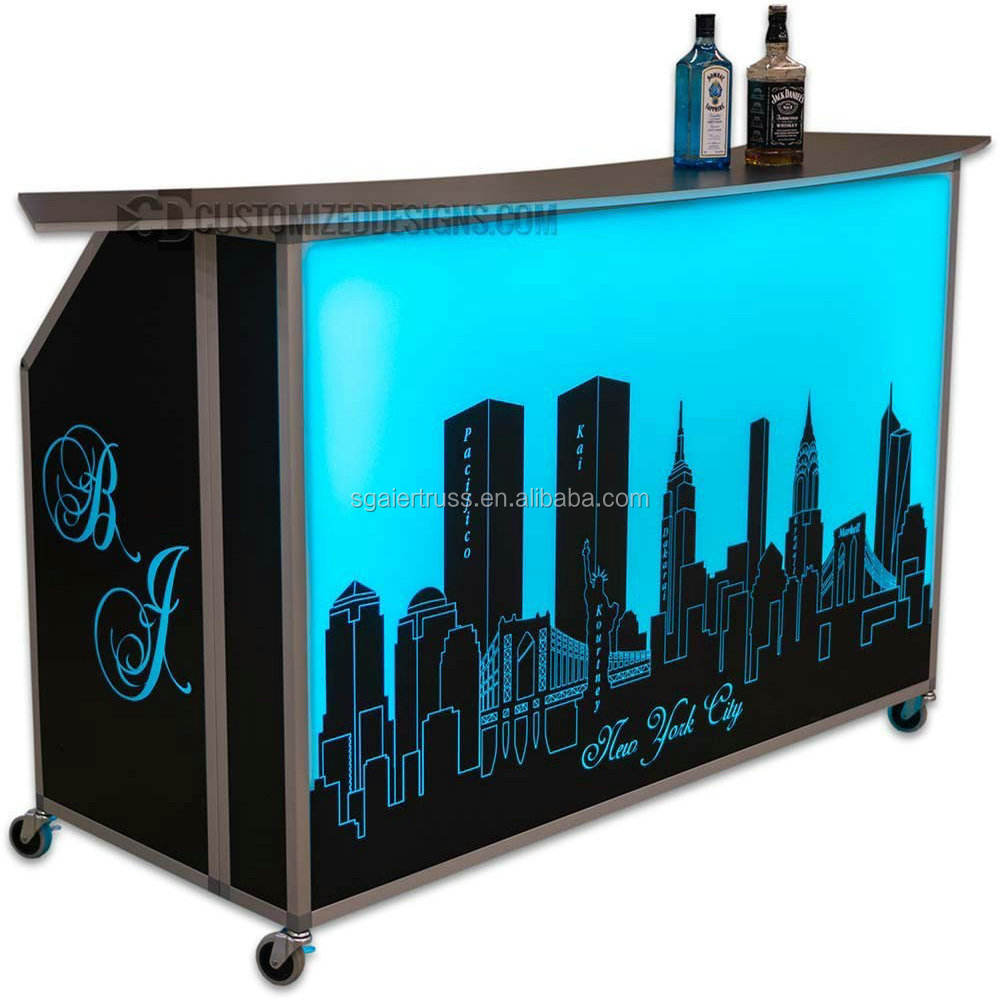 New free design illuminated mobile Led lighting portable light bars for sale
