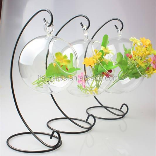 Welt hängen air plant runde mundgeblasenem blumenvase mordern glas blume terrarium hochzeit home party dekoration