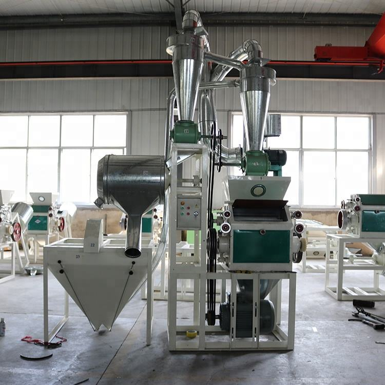 150kg/h small roller mill/corn milling machine/maize grinding mill price