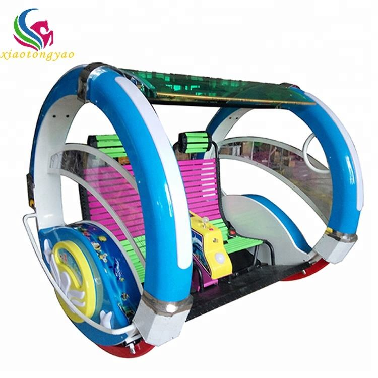 Best selling attractive indoor amusement park le bar car electric happy swing car happy le bar car