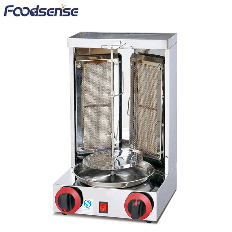 12 Months Warranty Stainless Steel Table Top Mini Gas kebab Grill Machine,Doner Kebab Machine