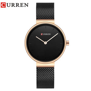 CURREN Brand Fashion Wristwatches Women Stainless Steel Band Women Dress Watches Women Quartz-Watch Relogio Feminino New
