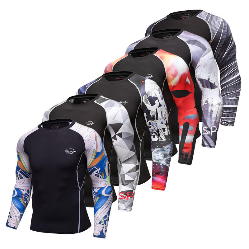 sublimated bjj mma design your own custom printed rash guard