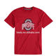 Fashion USA College Logo Customized Football Jersey Ohio State Buckeyes Shirts