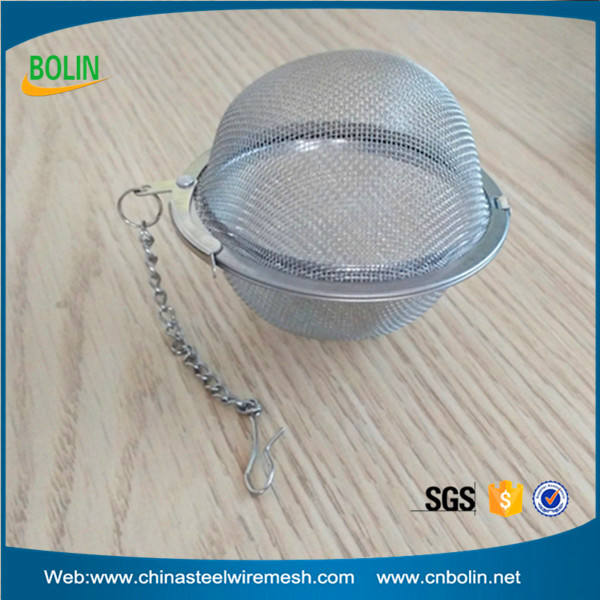 Ball Shape Stainless Steel Loose Leaf Tea Infuser