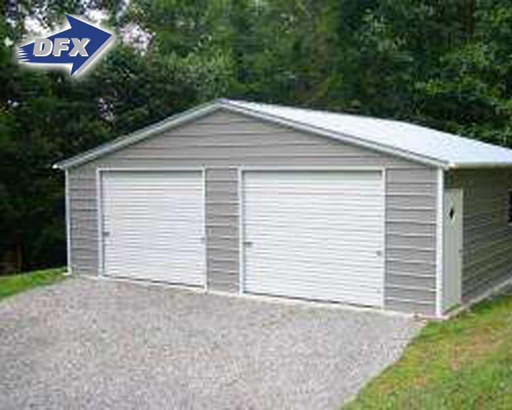 China Used Waterproof Metal Storage Shed Steel Buildings For Sale
