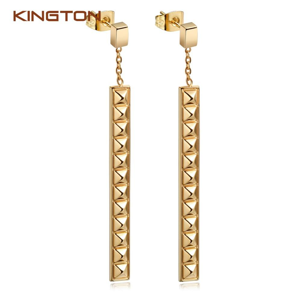 2017 Tren Fashion Liontin 316L Stainless Steel Anting-Anting