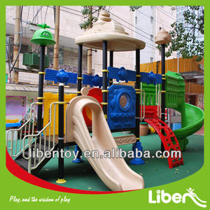 Eco friendly large outdoor playground equipment sale children favorite large outdoor playground for sale LE.ZI.002