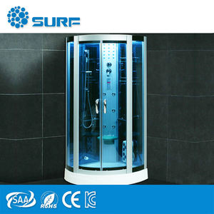 2017 New design high quality hottest Luxury Computerized Steam Shower Room