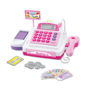 Learning Pretend & Play Teaching Cash Register Toy For Kids HC405654