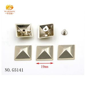 Custom various type decorative metal studs for leather
