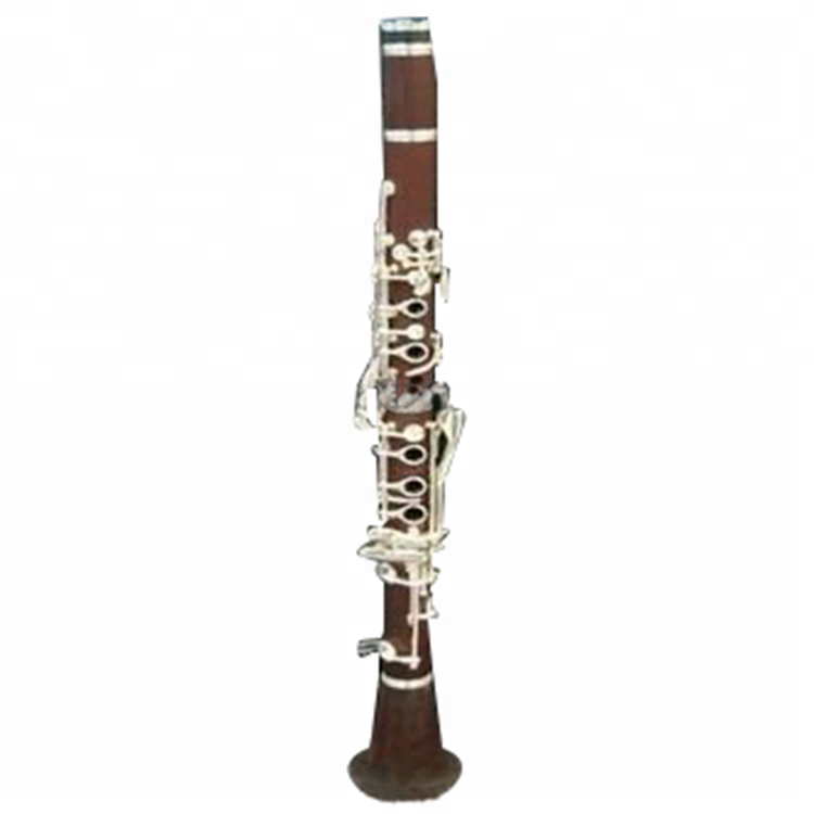 Hot sale G tone nickel plated rosewood clarinet