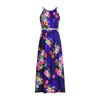or30398b 2019 best selling women clothing fashionable printed women dresses prevalent ladies dress
