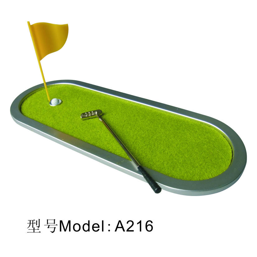 Personalize populares mini golf verde A216