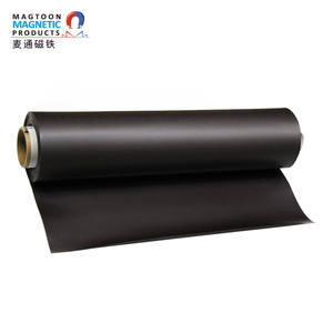 Strong rubber magnetic sheet, isotropic soft magnet Refrigerator car sticker magnetic material